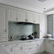 欧式白色田园风格厨房设计