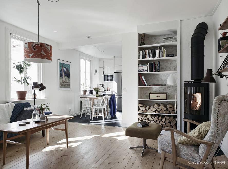 70平温馨宁静的公寓