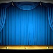 节日舞台帘幔设计