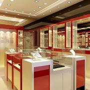 韩式风格展示柜设计