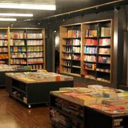 复古风格购物书店书架
