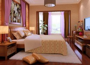 异域风情:东南亚风格优雅卧室装修效果图