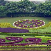 公园花坛装修设计
