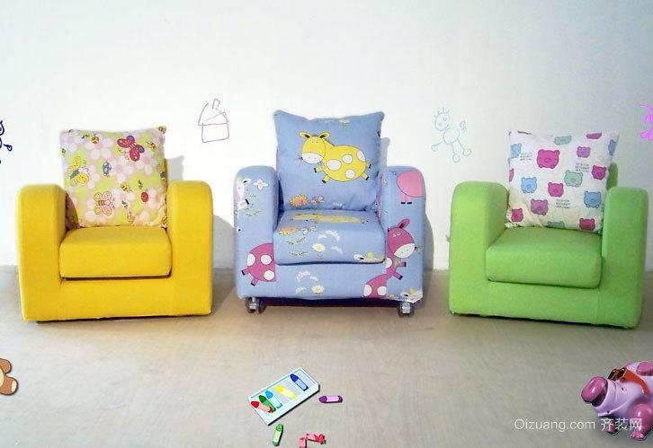 可爱迷人的受欢迎的儿童沙发装修效果图