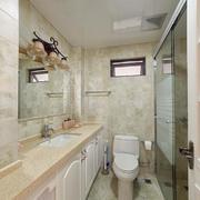 简欧风格别墅卫生间设计