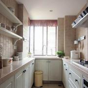 中式时尚小型厨房装饰