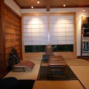 日式简约风格榻榻米效果图