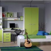 公寓现代简约风格电脑桌装饰