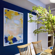别墅混搭风格背景墙效果图