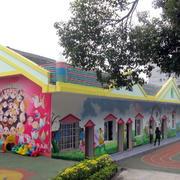 小型农村幼儿园墙饰装修