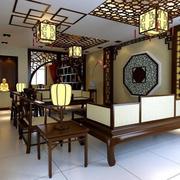 中式客厅复古灯饰