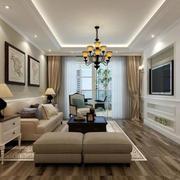 北欧风格客厅沙发装修