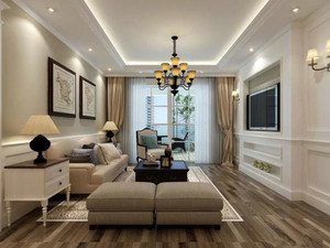 舒适家居大户型北欧风格卧室装修效果图欣赏大全
