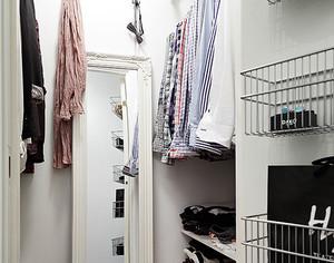 一室一厅简约衣帽间设计
