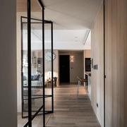 别墅简约风格玻璃门设计
