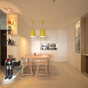120平米房屋简约桌椅设计