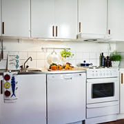 简约风格公寓厨房背景墙装饰