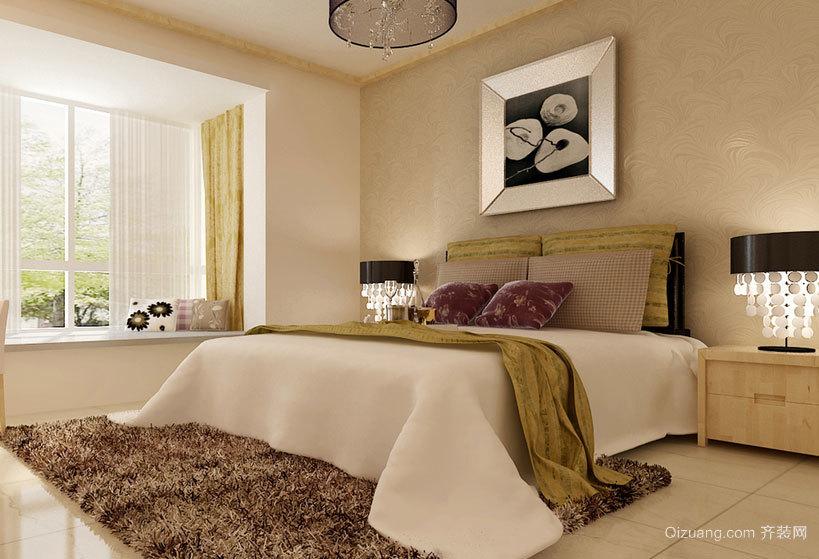 让心灵得到解放:温暖大方的小卧室装修效果图欣赏大全