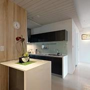 120平米房屋厨房小吧台设计