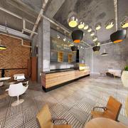 loft公寓客厅创意灯饰设计