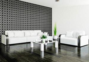 后现代风格客厅盆栽装饰