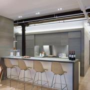 小户型厨房吧台设计