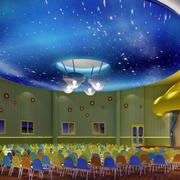 会议室大型创意圆型吊顶