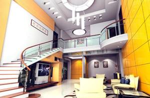 大型别墅楼梯装修