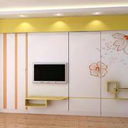 现代简约风格客厅背景墙