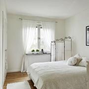 清新简约风格卧室飘窗设计