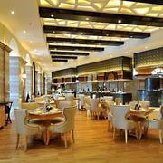 大型欧式奢华西餐厅装修