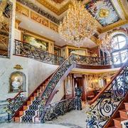 有艺术感楼梯装修图片
