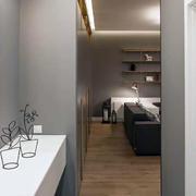 一室一厅客厅过道设计