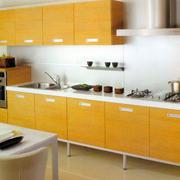 欧式清新风格厨房橱柜设计