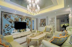 简约欧式别墅客厅装饰