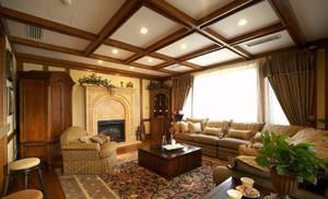 潮流华美的美式风格客厅装修效果图