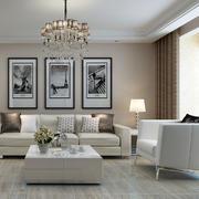 现代简约风格沙发背景墙装饰