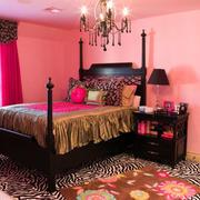 美式婚房卧室装修