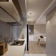 两室一厅简约厨房过道设计