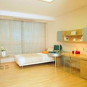 卧室原木背景墙装饰