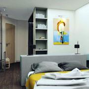 都市风格卧室玄关设计