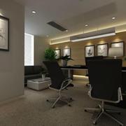 后现代风格私人办公室设计