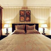 欧式风格卧室床头灯饰设计