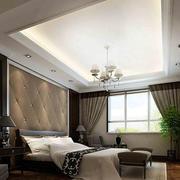 欧式卧室软包背景墙效果图