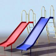 简易型小区滑滑梯设计