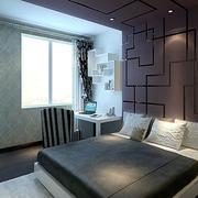 后现代风格卧室床饰设计