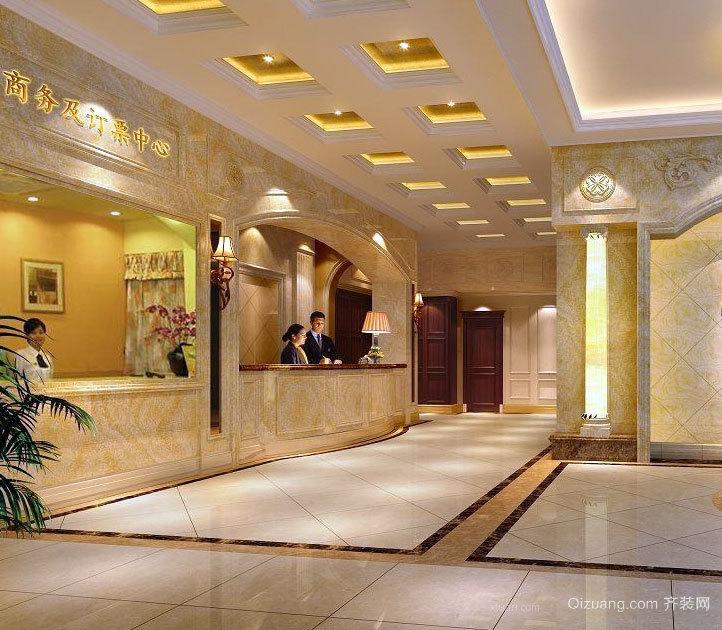 2015极具豪华的都市五星级酒店装修效果图实例鉴赏