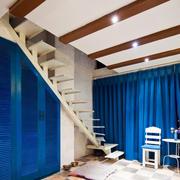 地中海风格简约楼梯设计