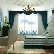 奢华风格卧室背景墙装饰