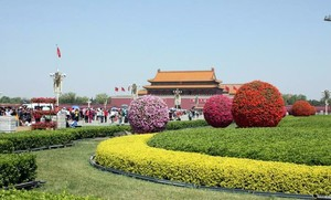 美化城市 随处可见的花坛装修设计效果图